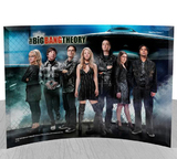 "The Big Bang Theory Group StarFire Glass Print (10"" x 7"")"
