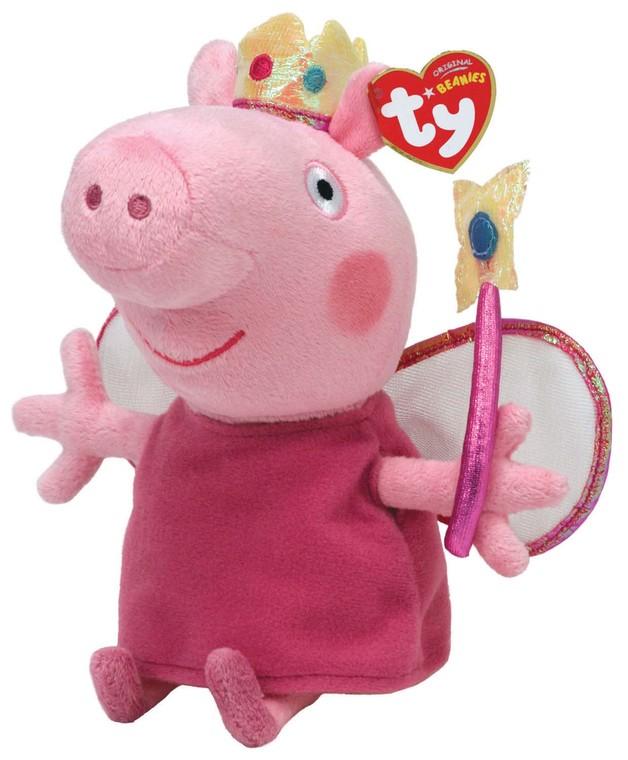 Peppa Pig - TY Beanie Princess