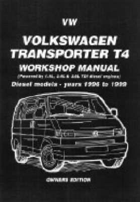 Volkswagen Transporter T4 Workshop Manual Owners Edition by Brooklands Books Ltd image