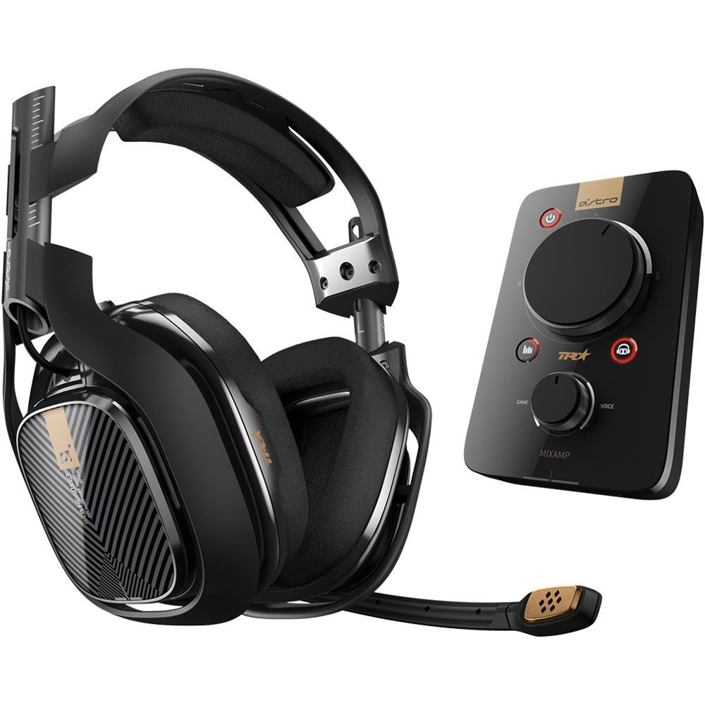 Astro A40 TR + MixAmp Pro Gaming Headset (Black) for PS4 image