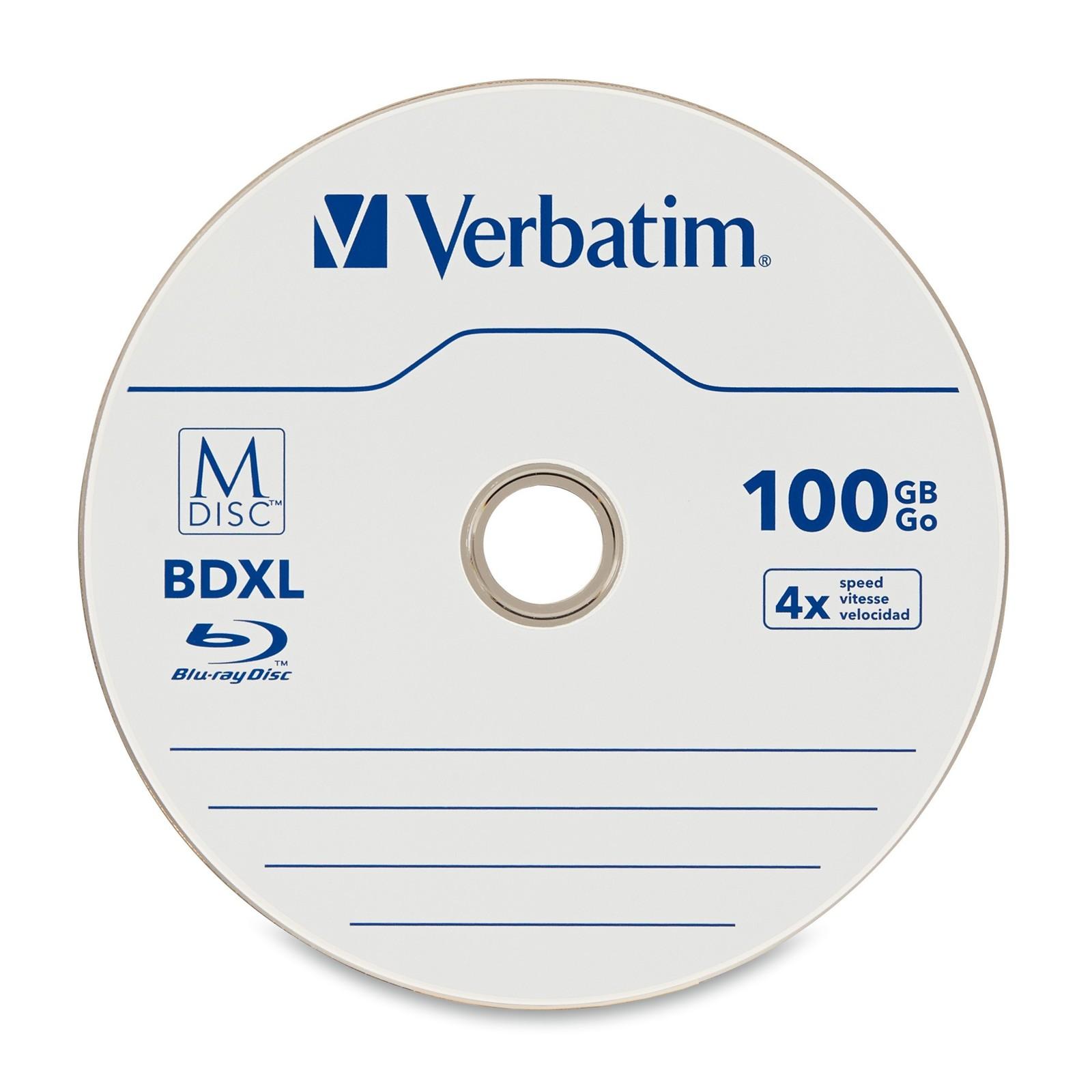 Verbatim M-Disc BDXL 100GB4X (5 Pack) image