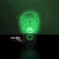 Star Wars: Death Trooper Light Up Keyring