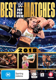 WWE: Best PPV Matches 2018 on DVD