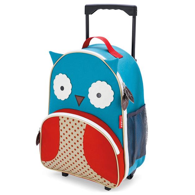 Skip Hop: Zoo Kids Rolling Luggage - Owl
