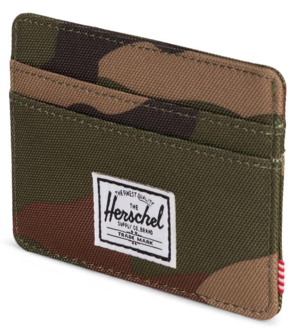 Herschel Supply Co: Charlie RFID Wallet - Woodland Camo