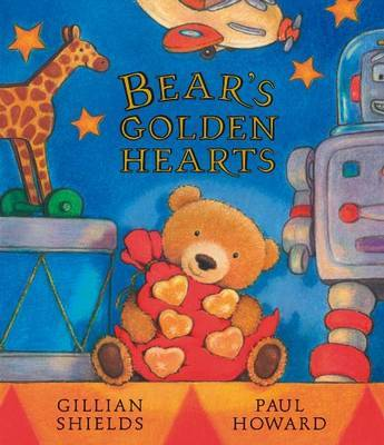 Bear's Golden Hearts by Gillian Shields image