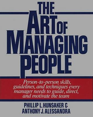 The Art of Managing People by Hunsacker image