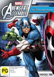 Avengers Assemble: The Infinity Gauntlet (Season 2) on DVD