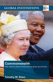 Commonwealth by Timothy M Shaw image