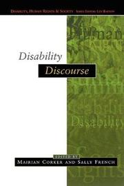 Disability Discourse by Sally French