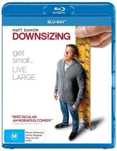 Downsizing on Blu-ray