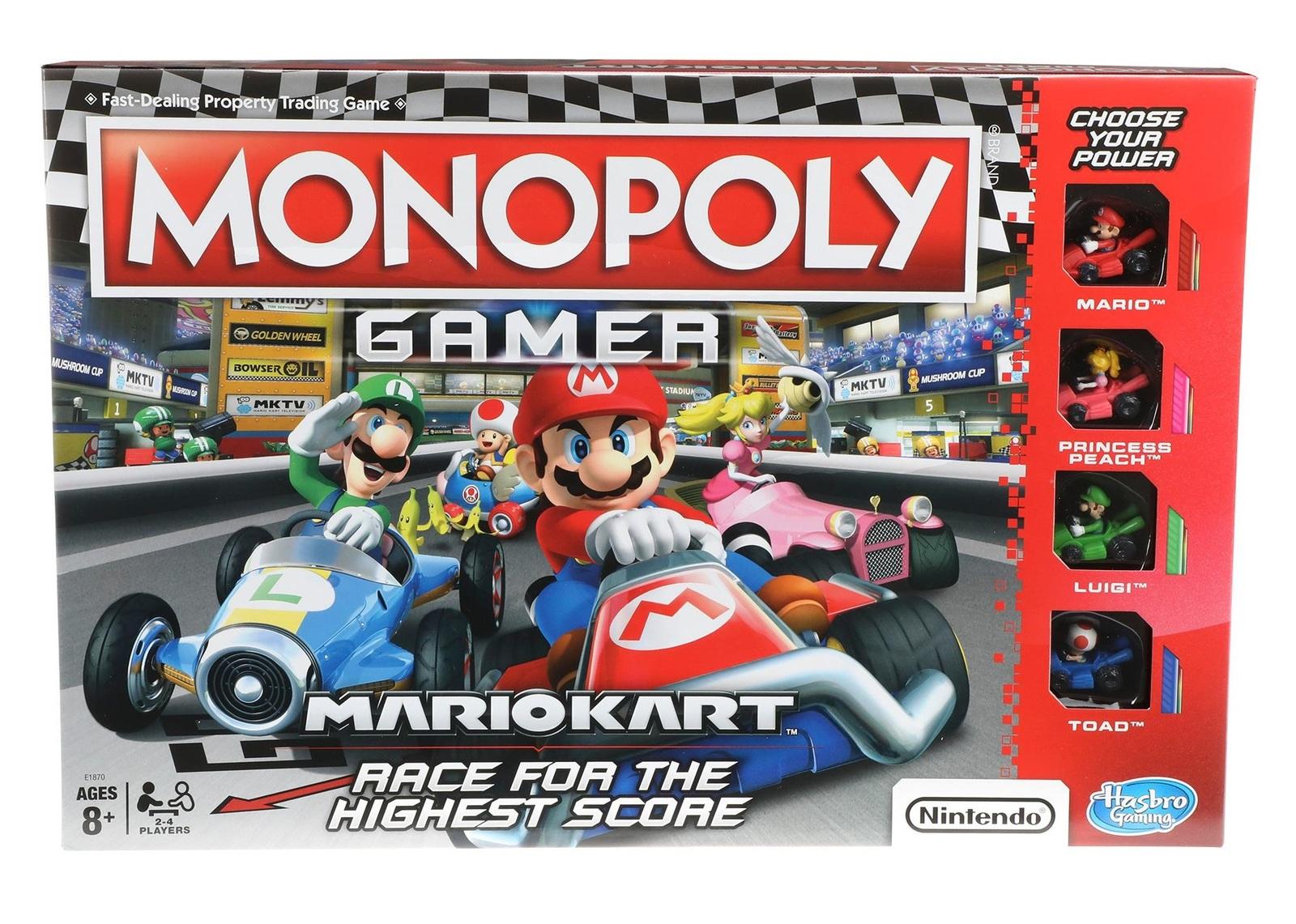 Monopoly: Gamer - Mario Kart Edition image