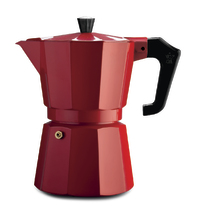 Pezzetti: Italexpress Aluminium Coffee Maker - Red (1 Cup)