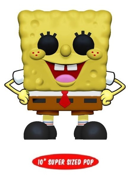 "Spongebob Squarepants - 10"" Super Sized Pop! Vinyl Figure"