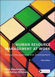 Human Resource Management at Work by Mick Marchington image
