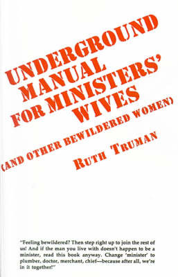 Underground Manual for Ministers' Wives by Ruth Truman image