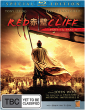 Red Cliff - Special Edition (2 Disc Set) on Blu-ray