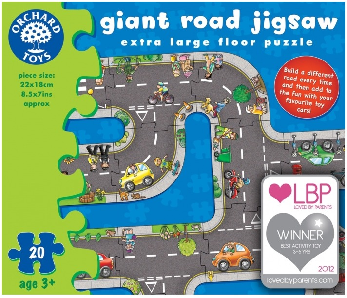 Orchard Toys: Giant Road 20 Piece Jigsaw Puzzle image