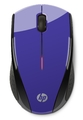 HP X3000 Wireless Optical Mouse (Purple)