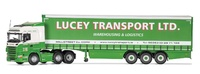 Corgi: 1/50 Scania R Curtainside Trailer, Lucey Transport Ltd