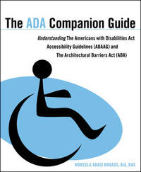 The ADA Companion Guide by Marcela A. Rhoads image