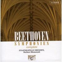 Beethoven: Complete Symphonies (5 CD Box Set) by Herbert Blomstedt
