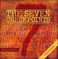 The Seven Checkpoints Student Journal by Andy Stanley