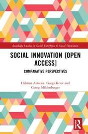 Social Innovation [Open Access] by Helmut Anheier