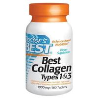 Doctor's Best Collagen Types 1 & 3 1000mg (180 Tabs)
