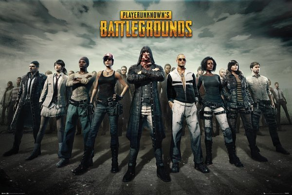 Player Unknown Battle Ground Maxi Poster - Group (893)