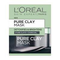 L'Oreal Paris Pure Clay Mask - Detoxify & Brighten (50ml)