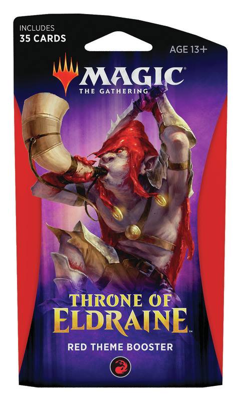 Magic The Gathering: Throne of Eldraine Red Theme Booster