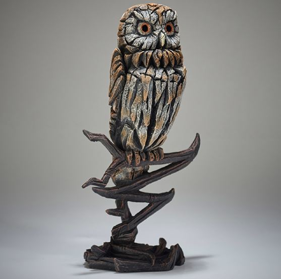 Edge Sculpture: Owl Figure - Small