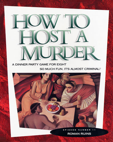 How to HOST A MURDER for 8 - Roman Ruins