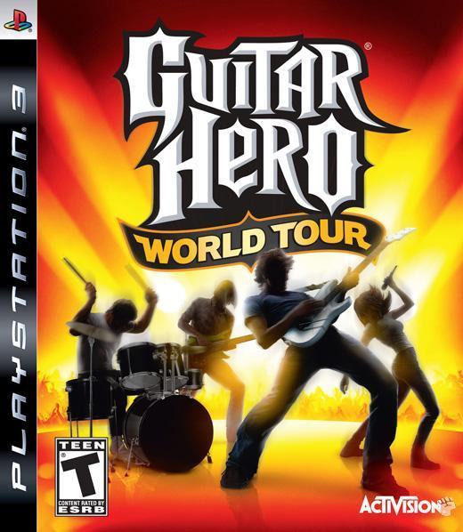 Guitar Hero: World Tour Guitar Bundle for PS3