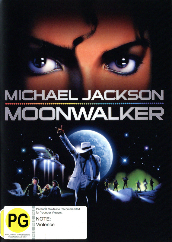 Michael Jackson - Moonwalker on DVD