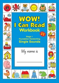 Learning Can Be Fun - A4 Wow I Can Read - Stage 1: Single Sounds