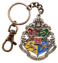 Harry Potter: Hogwarts Crest - Metal Keychain