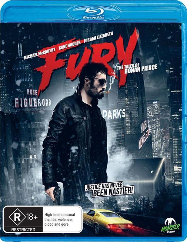 Fury - The Tales of Ronan Pierce on Blu-ray