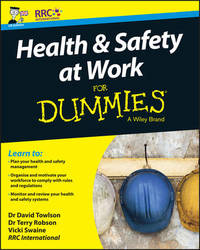 Health and Safety at Work For Dummies by RRC