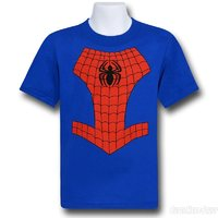 Spiderman Logo Costume T-Shirt (Size 4)