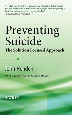 Preventing Suicide by John Henden image