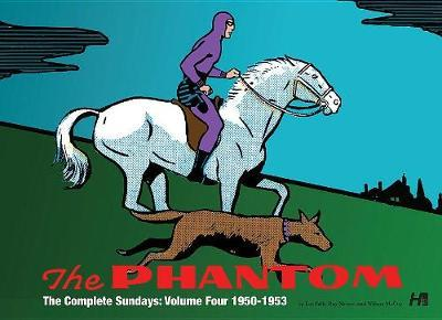 The Phantom: the Complete Sundays: Volume Four: 1950-1953 by Lee Falk image