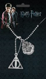 Harry Potter: Dog Tags with Ball Chain - Crest & Hallows
