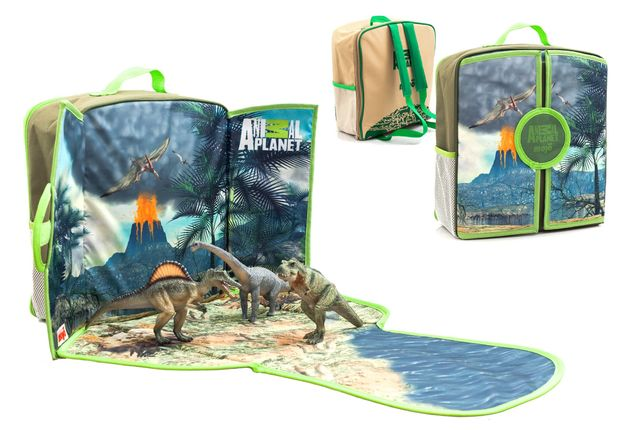 Animal Planet: Dinosaur Play-Scape Backpack