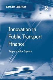 Innovation in Public Transport Finance by Shishir Mathur image