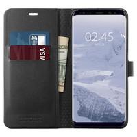 Spigen Galaxy S9+ Premium Wallet Case- Black