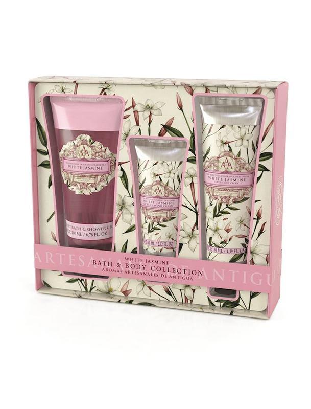 Aromas Artesanales De Antigua: Bath Collection - White Jasmine
