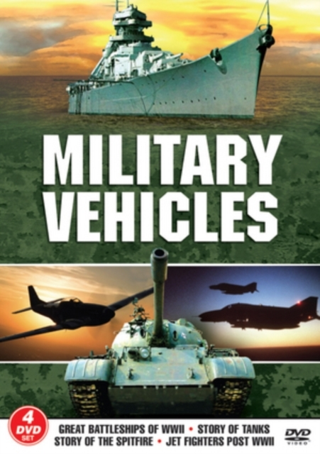 Military Vehicles on DVD