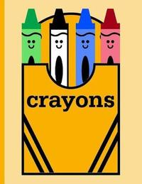 Box of Crayons for Coloring by Kidsspace image